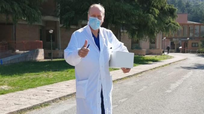 Rotary Assisi, in arrivo l'elettrocardiografo, consegnate le mascherine