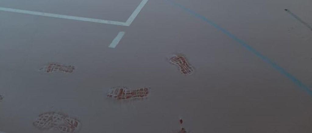 Atto di vandalismo palestra dell'Assisi Volley a Santa Maria degli Angeli