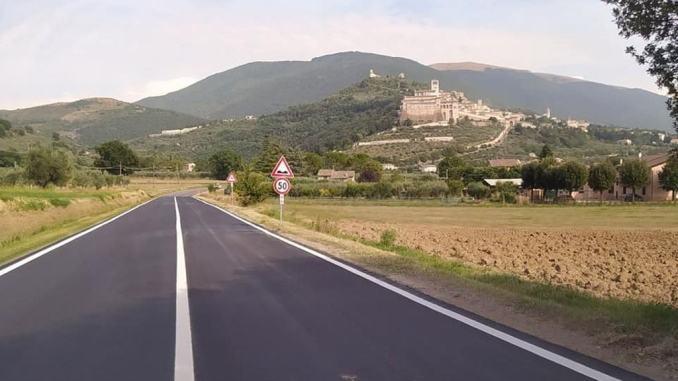Nuove asfaltature a Petrignano, Tordibetto e Rocca Sant'Angelo