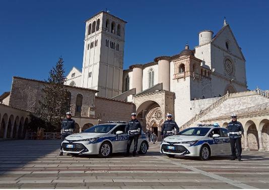 Bilancio dell'attività della polizia locale di Assisi, ecco tutti i dati