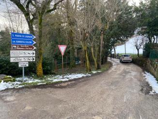 """Ripartiti i lavori sulle strade """"bianche"""" di montagna di Assisi"""