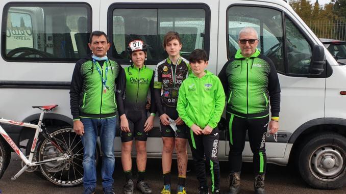 campionati italiani ciclocross: veloclub Assisi Bastia su gradini alti del podio