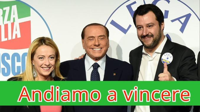 Lega, Fratelli d'Italia, Forza Italia e civiche uniti, il candidato c'è!