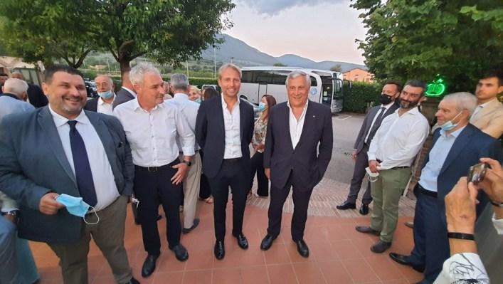 Per dar manforte a Cosimetti, torna ad Assisi, ma non solo, Antonio Tajani