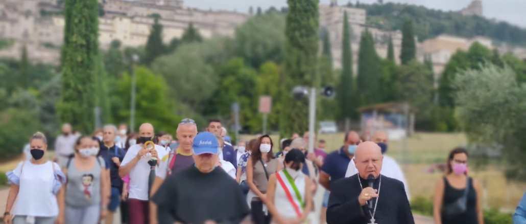 """Centinaia di persone hanno partecipato al """"Perdono degli Assisani"""""""