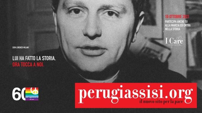 Marcia PerugiAssisi, quest'anno parte da Barbiana nel segno di don Milani