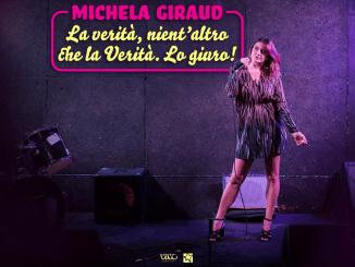Stand-up comedy Lyrick Summer Arena Michela Girauddomani in scena