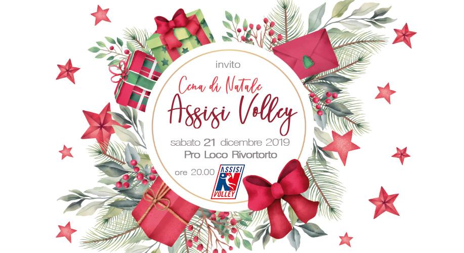 Natale in famiglia con l'Assisi Volley