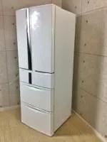 美品 三菱 465L 6ドア冷凍冷蔵庫 MR-R47Y-W 14年製