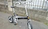 パナソニック 小型軽量 折りたたみ自転車 WILL B-WA21