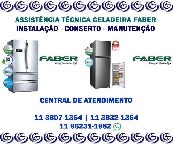 Assistência técnica geladeira Faber