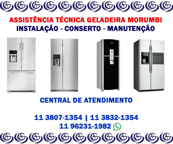 Assistência técnica geladeira Morumbi