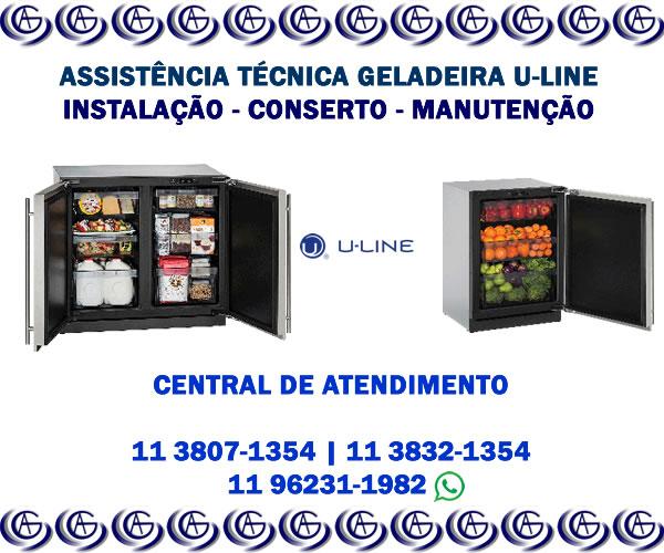 Assistência técnica geladeira U-line