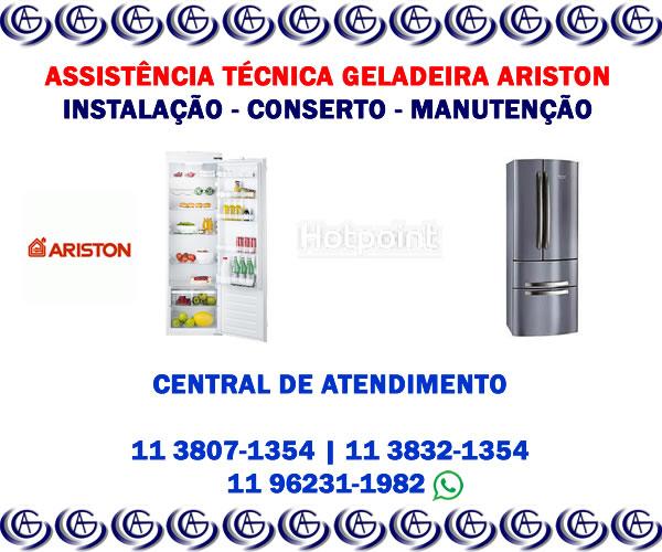 Assistência técnica geladeira Ariston