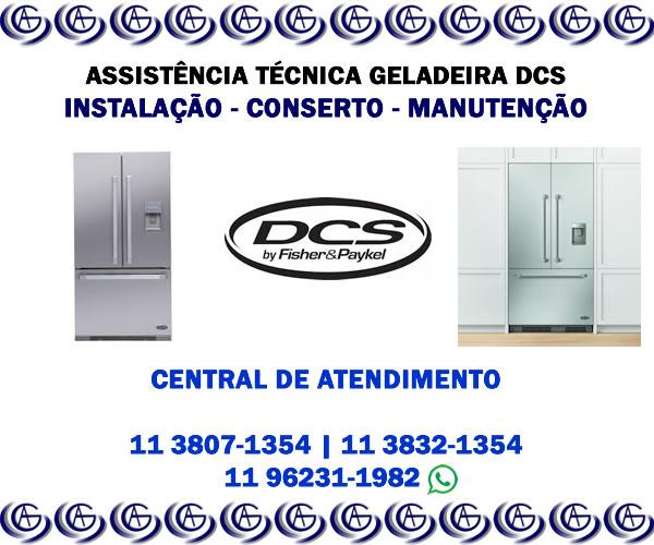Assistência técnica geladeira DCS