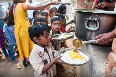 On World Hunger Day Coronavirus-hit Families Fear Starvation