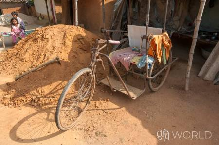 Gospel For Asia Gift Distribution Provides Man With Long-needed Wheelchair and New Sense of Freedom