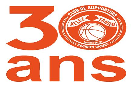 """Logo 30 ans du club de supporter """"Allez Tango"""""""""""