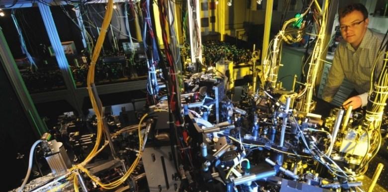 Image de l'experience réalisée en laboratoire