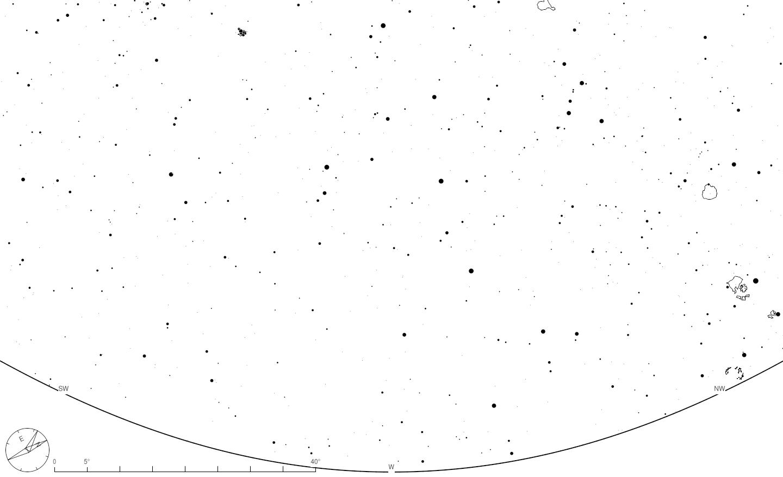 15 janvier – horizon ouest