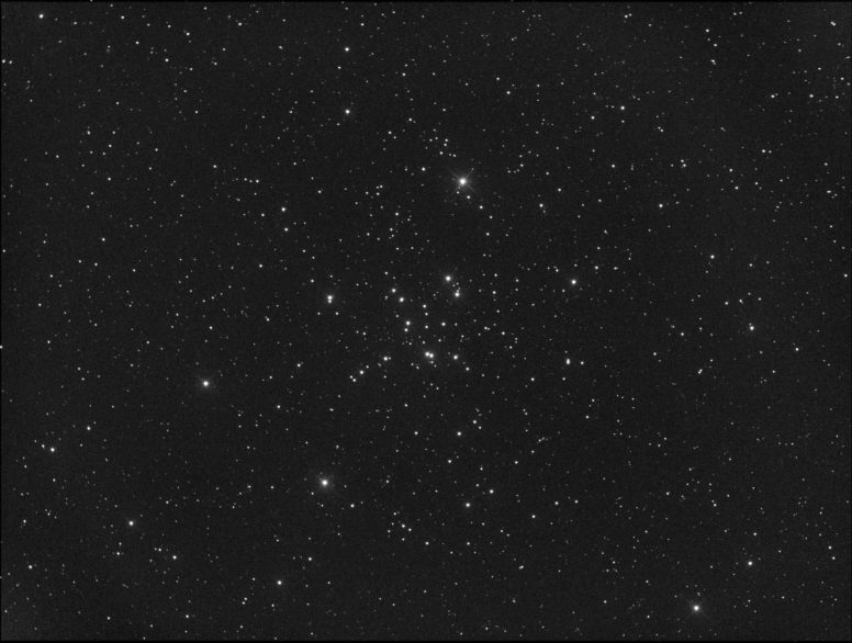 Messier 34 dans la constellation de Persée