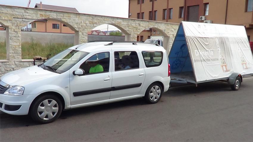 masina caravana medias