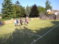 Jeux sur le terrain multi-sports