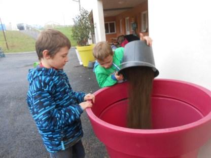 remplissage pot