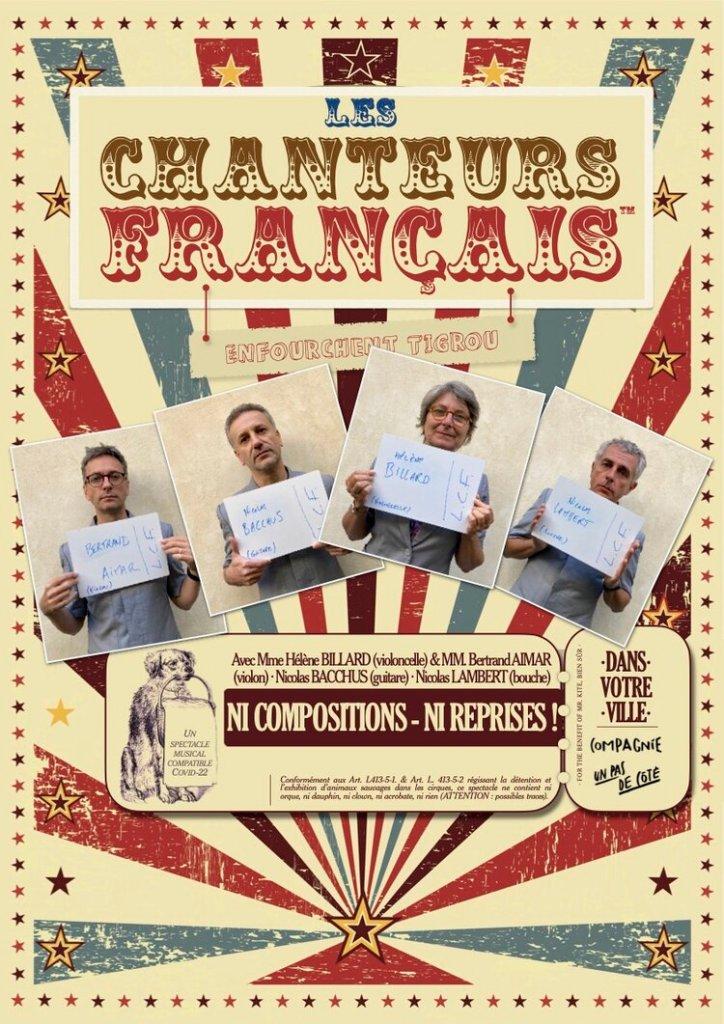 Les chanteurs français