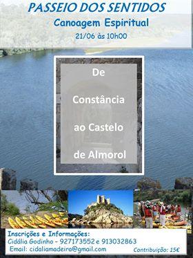 Passeio dos Sentidos – Canoagem Espiritual pelo Núcleo de Cascais, Estoril, Carcavelos e Oeiras