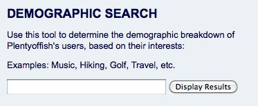 POF Demographic Search