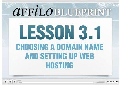 Getting started with AffiloBlueprint