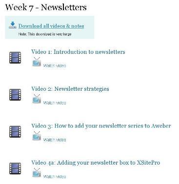 AffiloBlueprint profitable newsletter training