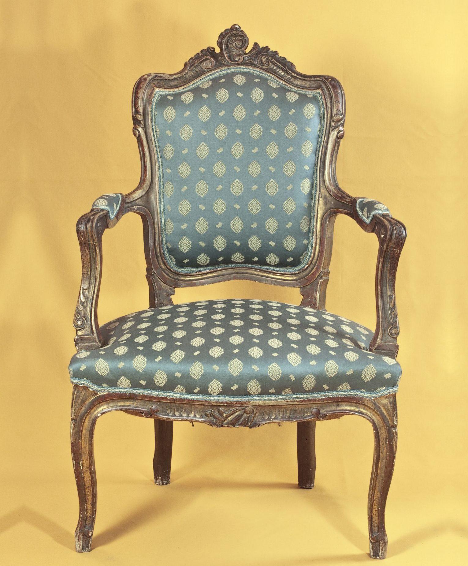 Le fauteuil Louis XIV