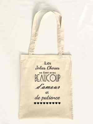 Tote bag : Les jolies choses…