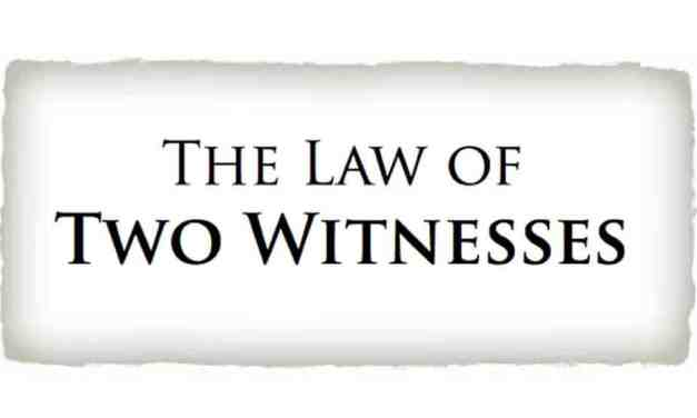 The Law of Witnesses