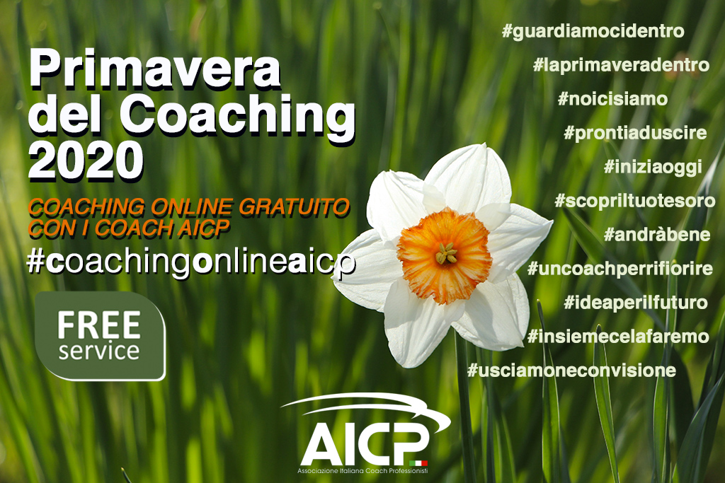 Da AICP una carica di solidarietà con la Primavera del Coaching