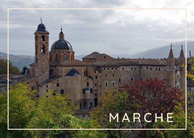 MARCHE-Palazzo Ducale di Urbino
