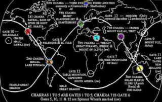 I luoghi più potenti del mondo: griglie, portali e chakra della Terra