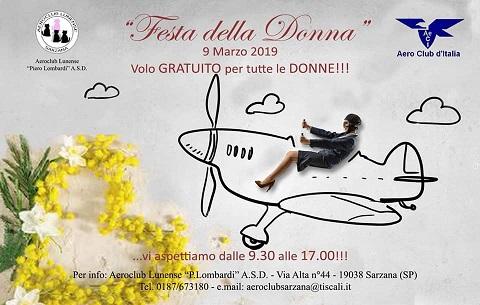 """GRAZIE  Aeroclub Sarzana Lunense per averci """"fatte volare"""" !"""