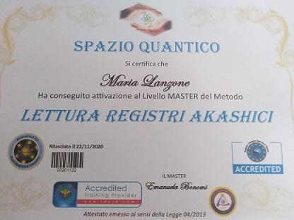 Offriamo Lettura e/o  Iniziazione per accedere ai Registri Akashici