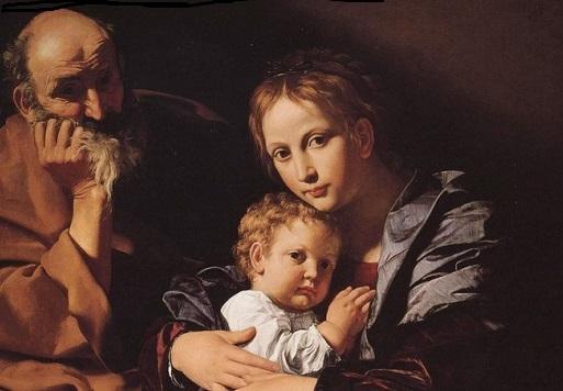 Bartolomeo Cavarozzi, Sacra Famiglia