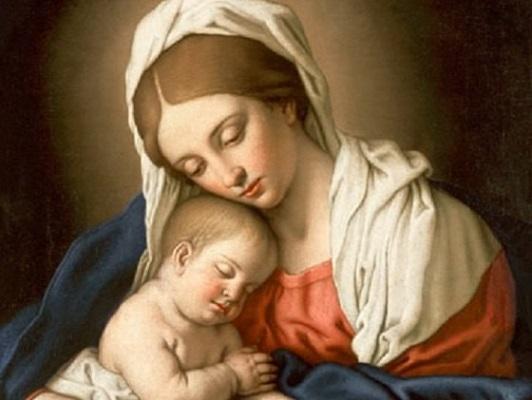La Madonna e la preghiera: «Dammi Gesù»