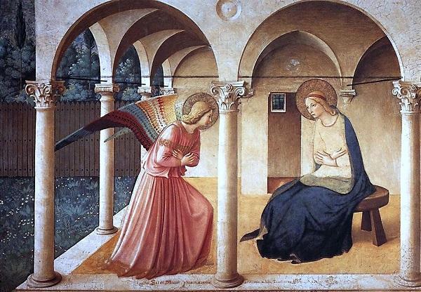 L'annuncio dell'angelo alla Beata Vergine Maria