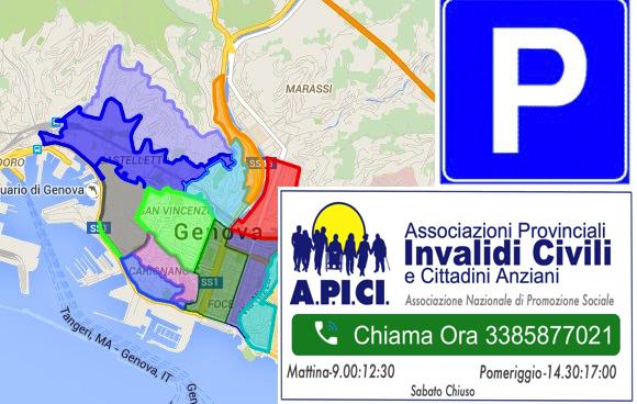Parcheggi Disabili E Aree Blu A Genova E Provincia