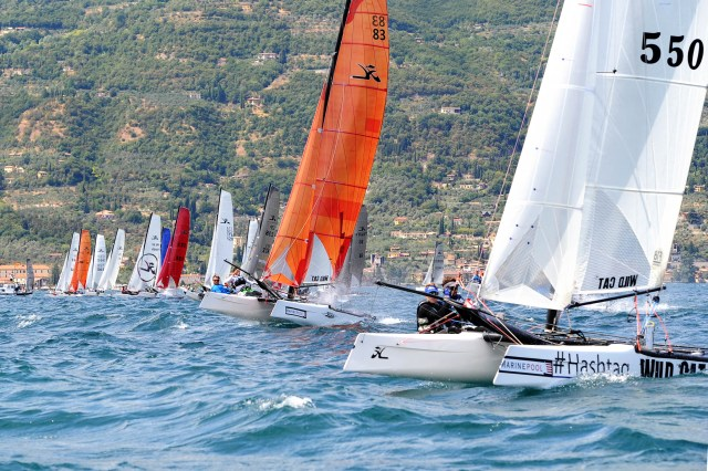 SPORT VELA BOGLIACO HOBIE MULTIWORLDS TIGER AND WILD CAT 31-07-2015