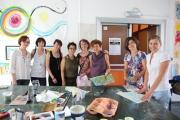"""<h5>Atelier di arteterapia realizzato nella giornata formativa del """"Gruppo </h5><p>Atelier di arteterapia realizzato nella giornata formativa del """"Gruppo </p>"""