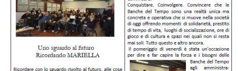 """Banca del Tempo Pervilla """"Giornalino nr. 0"""""""