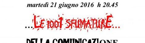"""La BdT di Gallarate propone """"Le  1001 sfumature della comunicazione"""""""