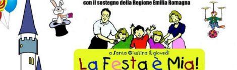 """La BdT di Rimini """"Giovani Rimini5"""" propone l'iniziativa """"La Festa è Mia!"""". Tutti i giovedì del mese di luglio."""
